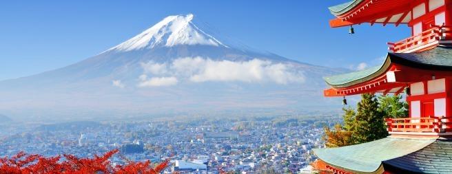 Japan: 6-Night Tour Incl. Mt. Fuji w/Air